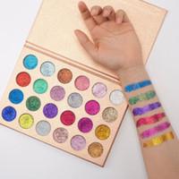 Sıcak Satış CLEOF Kozmetik Glitter Göz Farı Paleti 24 Renkler Makyaj Göz Farı Doğal Uzun ömürlü DHL Ücretsiz Kargo