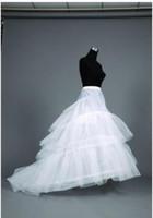 Darmowa wysyłka Suknia ślubna A-Line Petticoats Regulowane Rozmiary Crinoline Akcesoria dla nowożeńców Underskirt for Wedding Prom Quinceanera Suknie