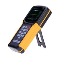 Freeshipping Digital osciloscopio de mano Alcance Meter 20MHz 200MSa / s multímetro de 4000 cuentas oscilloscopio lógica digital analizador de osiloskop