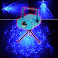 5W ha condotto il proiettore dell'acqua blu chiaro della fase principale di spettacolo di Home Show del DJ della luce di effetto dell'acqua del mini LED