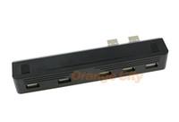 5 بورت USB المحور لبلاي ستيشن PS3 سوني PS3 سليم 2.0 عالية السرعة محول بالجملة في الأوراق المالية