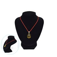 Wholesale Promotion Jewelry Necklace Display Stands Bust Torso Black Velvet Medium size