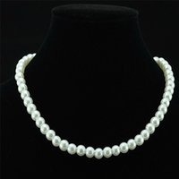 Fashion Wedding Fake Faux pearl beads necklaces Bride Brides...