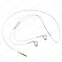 In-Ear стерео наушники 3,5 мм наушники-гарнитура с микрофоном и пультом дистанционного управления для Samsung S6 края S5 S4 Note5 Примечание4 100шт / много