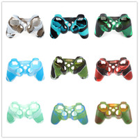 Camouflage Camo for Playstation 3 PS3 game controller soft s...