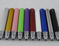 Cigarros eletrônicos ego-T 510 Bateria de rosca fit ecigs CE4 Atomizador CE5 Clearomizer CE6 vaporizador 650mah 900mah 1100mah Colorfull vape caneta