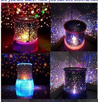 LED Star Sky Sky Iraq Proiettore Colourful Night Light Sleep Light Starlight proiezione lampada regalo