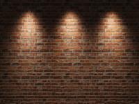 Vinilo Fotografía Personalizada de fotografía de pared de ladrillo y piso de madera tema muselina fotografía fondo zq45