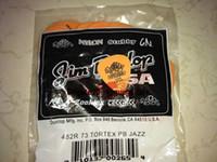 Groß- und Kleinhandel 72 Stück Plektren .60 Millimeter orange Tortex Gitarren-Auswahl vom Porzellan geben Verschiffen frei