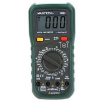 Freeshipping 디지털 멀티 미터 DMM 주파수 용량 온도계 시험기 (hFE 테스트 전류계 포함) Multitester Multimetro