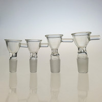 Tubos de vidrio soplado a mano Glass Glass Glass Bowl Glass Gravity Bong Bowl14mm 18mm Joint In 3 Kinds