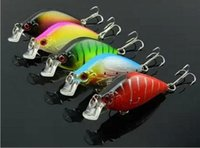 HOT 20PCS 6. 5CM 8. 4g 2. 55in 0. 3oz Rock Crank Minnow lure fis...