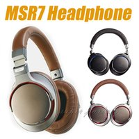 MSR7 Headphone Sound Reality AAA quality wired headphones wi...