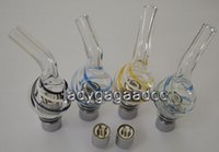 Glass tank dry herb atomizer for ego battery Glass Globe ato...