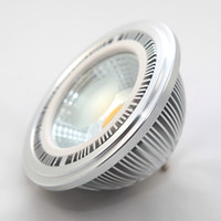 Feux gros 15W COB LED AR111 GU10 G53 AC110V-240V haute lumens Bridgelux haute puissance QR111 ES111 LED Lampes usine PRIX