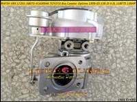 RHF5H VB9 17201-58070 1720158070 VC430046 Turboocharger for TOYOTA Bus Coaster Optimo 1999-2005 15B DI 4.0L EURO 3؛ 15BFTE 4.1L 136HP