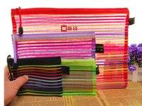 Wholesale-Travel Box Bag Organizer Makeup Pouch Purse Toiletry Case Pen Cosmetic Pencil Mpeeg
