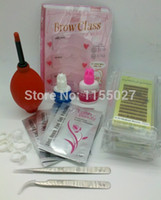 Wholesale-Eyebrow Extension Kit 21 PCS in One Eyebrow Training Teaching Set Free Shipping