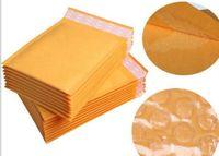 크래프트 종이 봉투 항공 우편 공기 가방 포장 거품 쿠션 패딩 봉투 선물 랩 최신 160mm * 140mm 6.29 * 5.5inch의 하락 선박
