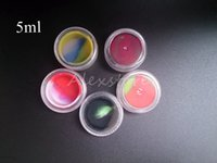 20pcs Acrylic silicon container 5ml 7ml 10ml wax concentrate...