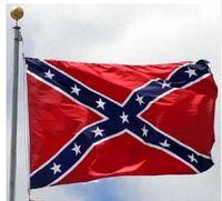 الحرب العلم الكونفدرالية العلم مطبوعة حرب جنوب العلم الكونفدرالية المتمردين المدنية 5 X 3FT