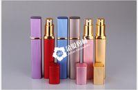 200 pcs spray portátil garrafa de cosméticos 2015 Viagens Mini Deluxe Recarregáveis Atomizador Spray de Perfume de 12 ml Garrafa Vazia garrafa de perfume