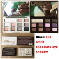 Black & white chocolate eye shadow too faCE eye shadow palet...