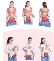 Nuevo diseño ergonómico bebés y niños pequeños porta bebé con Hipseat multi-función respirable Carrier mochilas de niño infantil del bebé de los niños