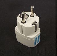 700 Pçs / lote Adaptador de Tomada De Energia AC Adaptador UK / EUA / AU Para Adaptador de Plug UE Universal EURO Adaptador Conversor de Viagem Plugue Elétrico