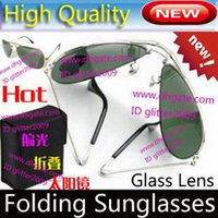 Top quality Folding Sunglasses glass Lens glasses Men' s...