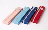L'alta qualità, braccialetti di perl scatole regalo di bracciali di fiori di carta trasversali box, scatola di presentazione di imballaggio Colore facoltativo spediti a caso