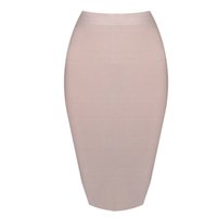 Wholesale- DEIVE TEGER Wholesale pencil skirt New Bandage Sk...
