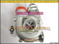Оптовая GT2056V 763360-5001S 763360-0001 763360 35242115F Turbo турбокомпрессор для Джип Чероки 2004-07 свободы 2004 R2816K5 ВМ 2.8 л CRD