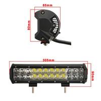 120W OSRAM LED Light Bar Spot Flood Offroad Led Work Light 12V/24V SUV ATV UTV 4WD 4X4 Off Road Led Light Bar