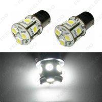 2pcs blanc 12V 1156 BA15S P21W LED Light Car 13SMD 5050 frein arrière tour Ampoule Signal lampe # 3069