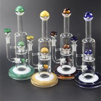 Glass Hookahs Thick Water Pipe 30cm Height Beaker Inline Bal...