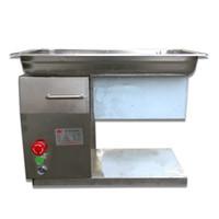 Atacado - Frete Grátis 110V / 220V Novo Design QH Meat Slicer, Máquina de corte de carne, Cortador de carne, amplamente utilizado no restaurante