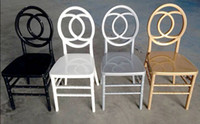 Harz Phoenix Stuhl, stapelbarer Hochzeitsstuhl, Gold, Silber, weißer Kunststoff-Bankettstuhl