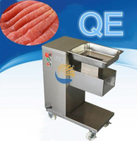 110v 500kg hr Food Processing Equipment vertical type QE meat cutting machine with no blades set