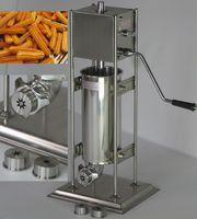 5L Ev Kullanımı Ticari Kullanım Paslanmaz Çelik Manuel El Krank Spainish Churrera Churros Makinesi Yapma Makinesi