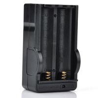 Chargeurs de batterie intelligents de Li Chargeurs de mur noirs universels adaptés pour l'indication de LED de 18650 L'entrée de courant alternatif de haute qualité la vente chaude 18650B