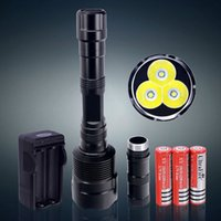 For Sale - Bright 3800 Lumen 3T6 LED Flashlight CREE XM- L T6...