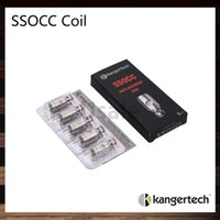 Kanger ssocc spulen 0,2 ohm 0,5 ohm 1,2 ohm 1,5 ohm ni200 0,15 ohm ersetzen spulenkopf für nebox subvod topbox nano subtank mini 100% original