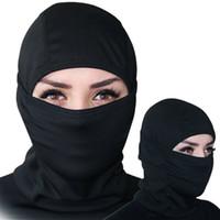 Umidità asciugatura rapida cappotta esterna equitazione vento polvere sci cappuccio cs maschera tattica maschera ciclismo in vendita