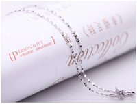 925 sterling silver necklace female short paragraph Starry c...
