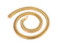 18-каратное золото, продажа моделей взрыва в Европе и Америке , доминирующая позолота cukuang , мужское ожерелье , KX627