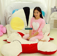 Dorimytrader 230cm X 150cm Japan Anime Beanbag Soft Plush Ultraman Bed Carpet Tatami Mattress Sofa Nice Gift For Kids Free Shipping DY60560