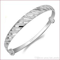 925 bijoux en argent sterling bracelets de charme bracelets bracelet chinois vintage bande ligne lumineux livraison gratuite
