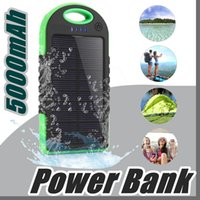 5000mAh Solar power Charger and Battery Solar Panel waterpro...