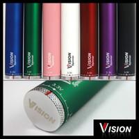 ego-c twist batterie électronique cigarette 650mah 900mah 1100mah 1300mah vision spinner grande capacité pour vivi nova V2 CE4 CE5 Mt3 X9 H2